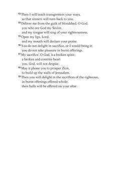 Psalms 51 apk screenshot