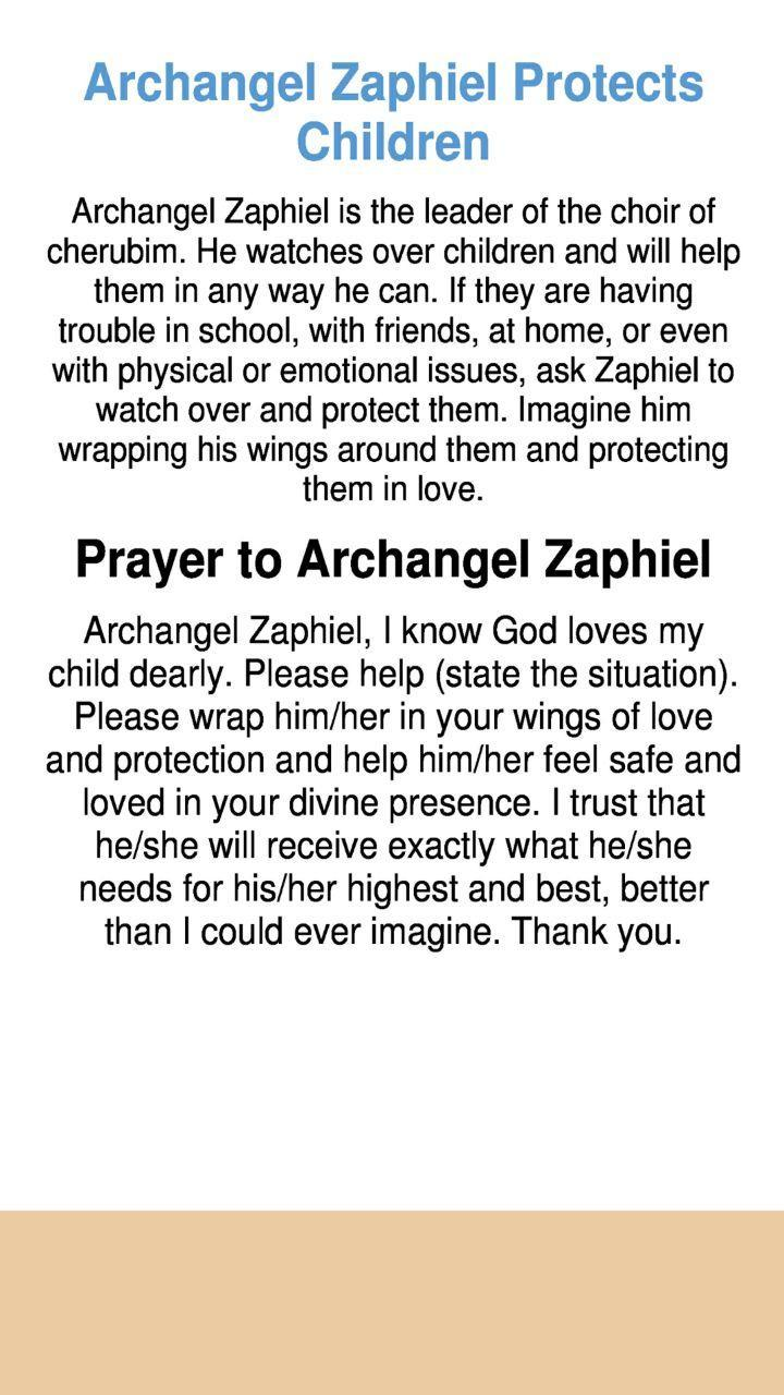 Archangel Zaphiel Protects Children for Android - APK Download