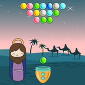 Bible New Testament Bubble Shooter icon