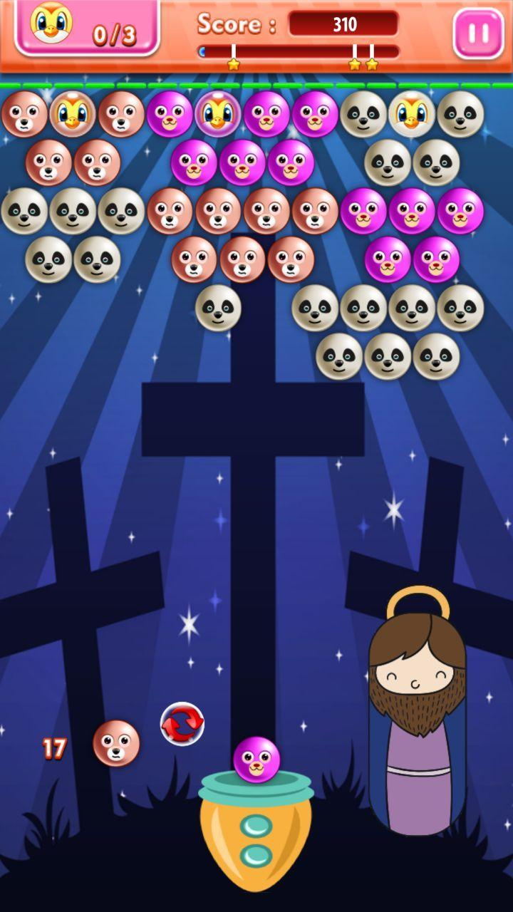 Bible Games For Kids Online Bubble Shooter for Android - APK