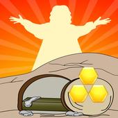 Block Hexa Jesus Resurrection icon