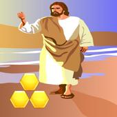 Block Hexagon Jesus Christ icon