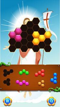 Fun Puzzle Games Jesus On The Cross apk screenshot