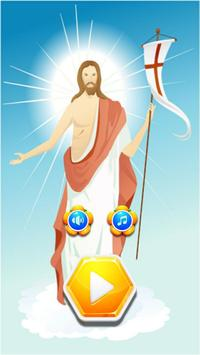 Fun Puzzle Games Jesus On The Cross poster
