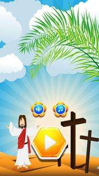Games Puzzle Games Jesus On The Cross poster