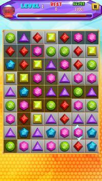 Gems Free Match Game poster