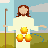 Hard Puzzle Games Jesus On The Cross icon
