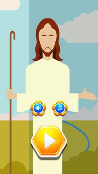 Hard Puzzle Games Jesus On The Cross poster