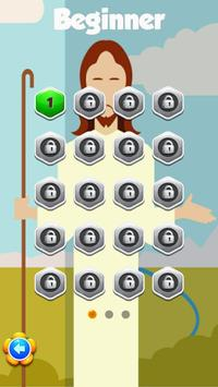 Hard Puzzle Games Jesus On The Cross screenshot 1