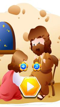 Hexa Block Game Jesus Christ poster