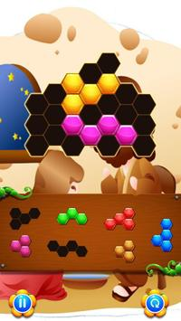 Hexa Block Game Jesus Christ apk screenshot