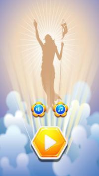 Hexa Block Game Jesus Resurrection poster