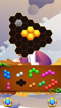 Hexagon Puzzle Games Jesus Christ apk screenshot