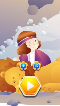 Hexagon Puzzle Games Jesus Christ poster