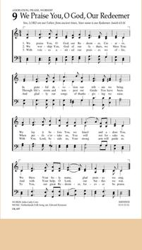 Hymnal We Praise You O God Our Redeemer poster