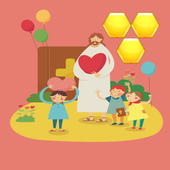 Jesus Christ Birthday Hexa icon