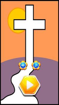 Jesus Words Hexa poster