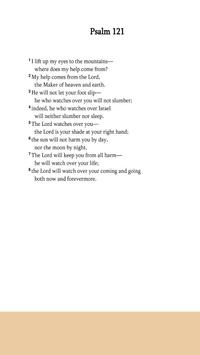 Psalms 121 poster