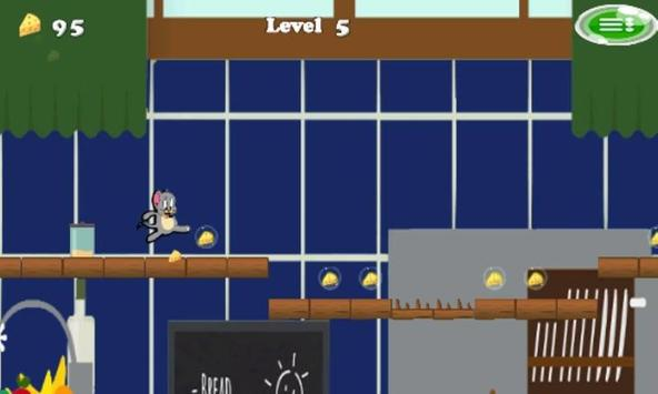 Jerry running adventure apk screenshot