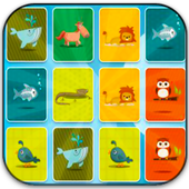 Educational Games - Animal Memory match icon