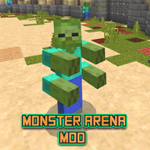Mod The Monster Arena MCPE icon