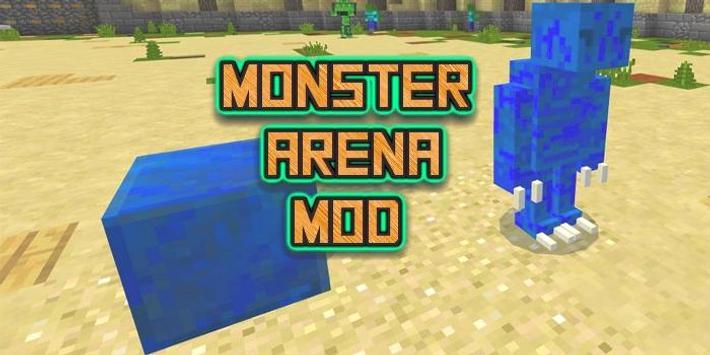 Mod The Monster Arena MCPE poster