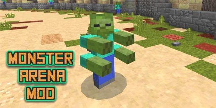 Mod The Monster Arena MCPE screenshot 1