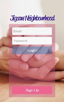 Jigsaw Neighbourhood poster