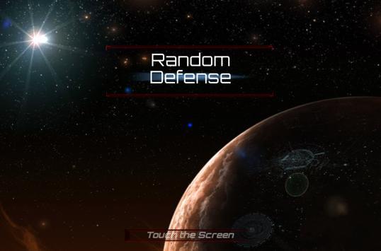 RANDOM DEFENSE poster