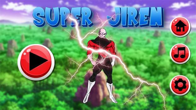 Super Jiren Saiyan Battle poster