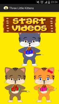Three Little Kittens SONG poster