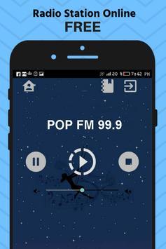 Fm Pop Radio Denmark Stations Online Free Music poster
