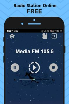 Radio Media Fm Azerbaijan Station Free Apps Music poster