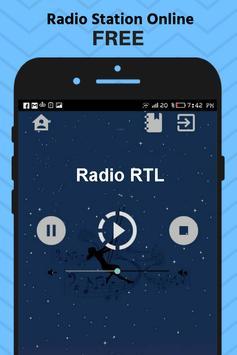 Radio RTL Belgium Station Online Free Apps Music poster