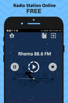radio indonesia rhema free apps music online poster