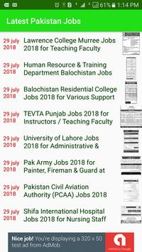 Pakistan Jobs - Latest All Jobs screenshot 5