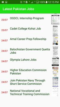 Pakistan Jobs - Latest All Jobs screenshot 1