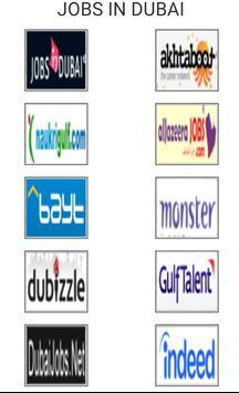 Jobs in Dubai poster