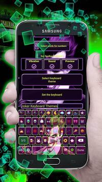 Joker Keyboard with Emoji poster