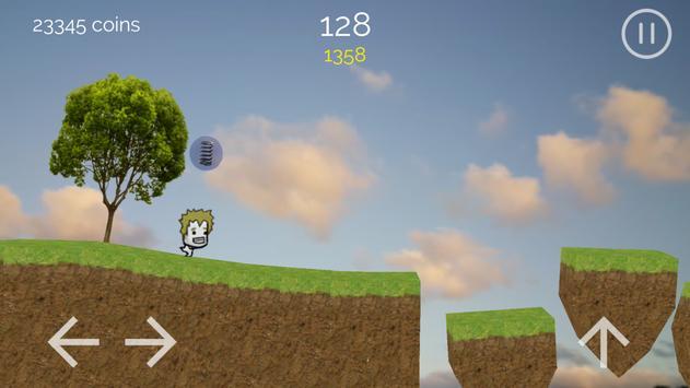 Running Jo' - 2D runner game apk screenshot