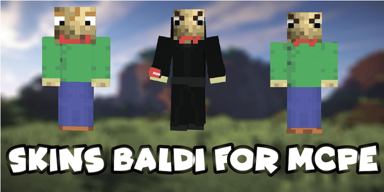 Skins Baldi For Minecraft PE For Android APK Download - Skin para minecraft pe frozen