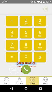 Joocalls apk screenshot