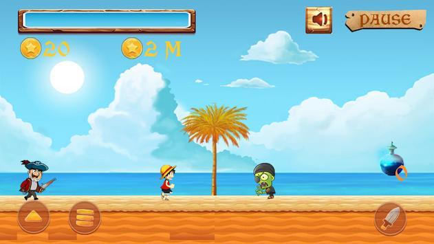 Luffy The Pirate apk screenshot