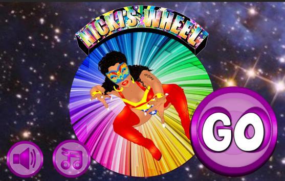 Nicki Minaj arcade darts screenshot 1