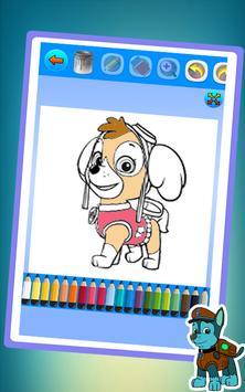 Paw Patrol Coloring Game - Painting Paw patrol APK Download - Free ...