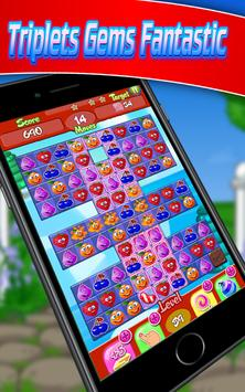 Triplets Fruity Fantastic apk screenshot