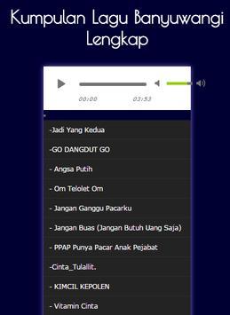 Kumpulan Lagu Banyuwangi Lengkap screenshot 4