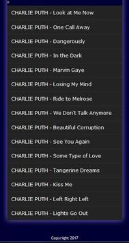 CHARLIE PUTH's Most Popular Song Collection poster