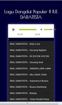 Lagu Lagu Dangdut INUL DARATISTA - Mp3 screenshot 11