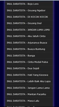 Lagu Lagu Dangdut INUL DARATISTA - Mp3 screenshot 5